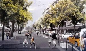Begegnungszone Maaßenstraße, Nollendorfkiez, Nollendorfplatz, Winterfeldtplatz, Schöneberg, Berlin