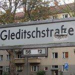 Protest Gleditzschstraße