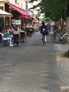 Radfahrer Maaßenstraße