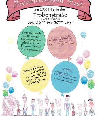 Frobenstraßenfest