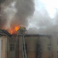 Häuserbrand